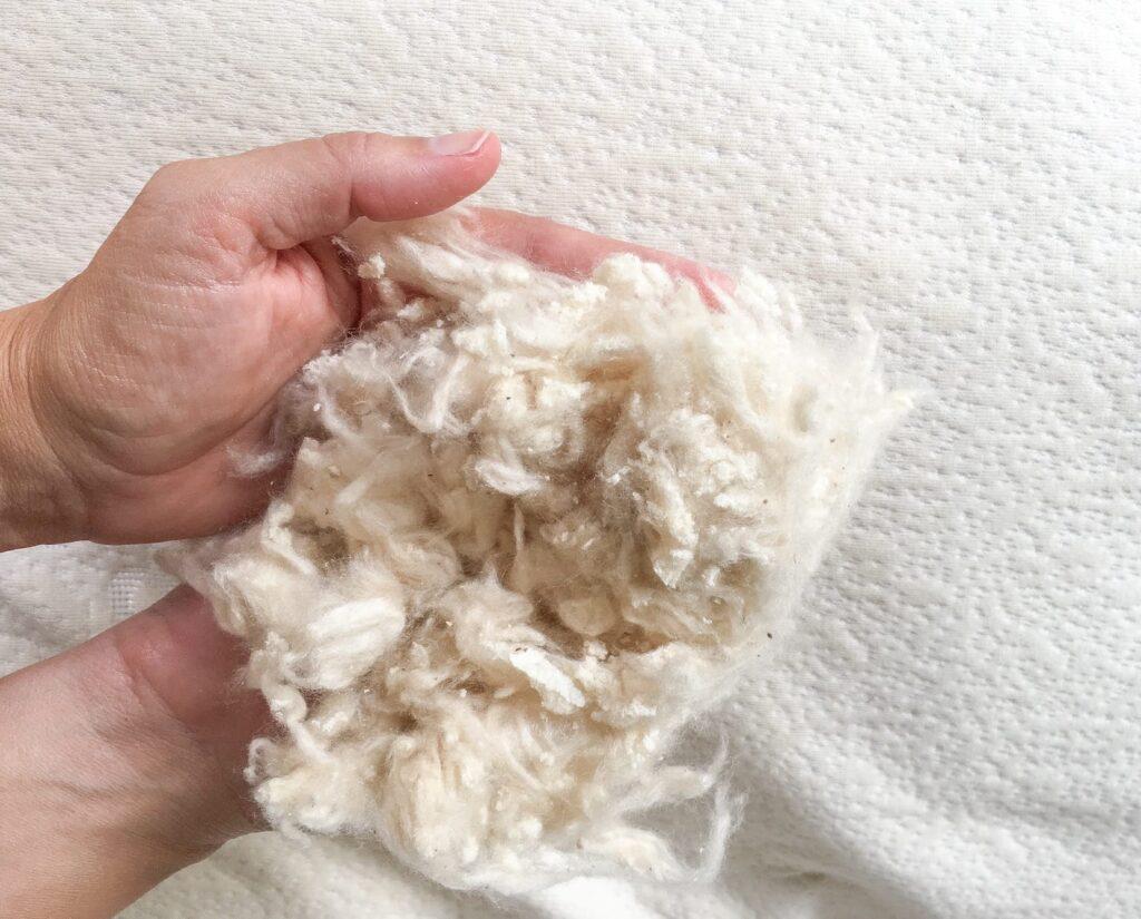 Kapok stuffed matras